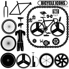 speed bike icons