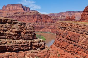 Colorado river in Canyonlands N.P. Utah
