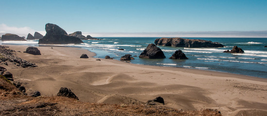 Oregon Sand Dunes and Monoliths
