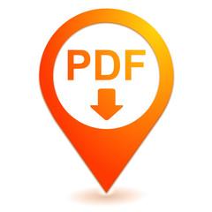 pdf téléchargement sur symbole localisation orange