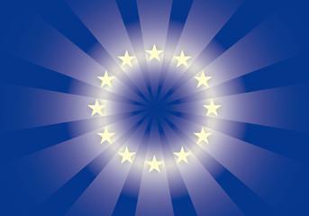 Sfondo Bandiera Europa