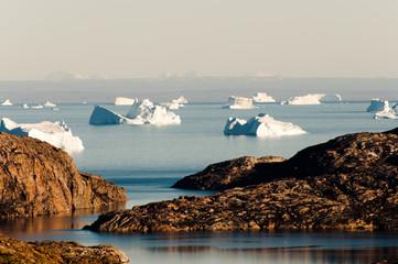 Icebergs Fjord - Scoresby Sound