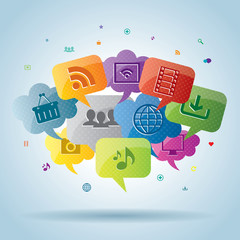 Social media and internet business