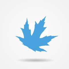 Vector Illustration of Maple Leaf Icon