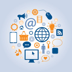 business with the internet and social networks