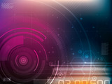 Fototapety Abstract technology background
