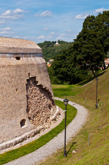 Bastion of City Wall, Renaissance style fortification in Vilnius