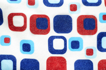 Red white and blue abstract background