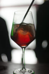 Cold cocktail, delicious,fresh, artistic photo