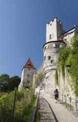 Castle Burghausen in Germany