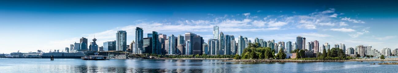Vancouver BC Panorama