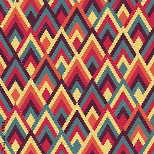 Canvas Kunstmatig Geometric background