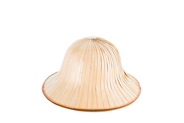 Asia hat isolated with clipping path