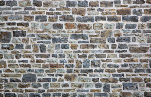 Naklejka Old brick or stone wall background
