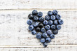 canvas print picture - Blueberries