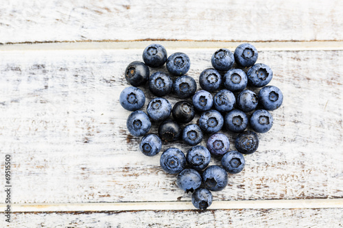 canvas print picture Blueberries