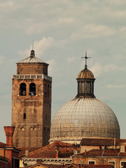 Roofs in Venice