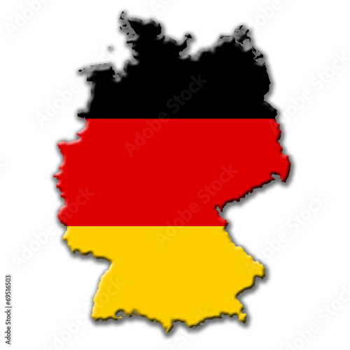 canvas print picture Deutschland