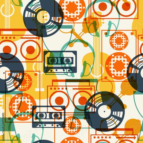 wzor-z-instrumentow-muzycznych-w-stylu-plaska-konstrukcja