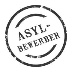 sk60 - StempelGrafik Rund - Asylbewerber - g1480