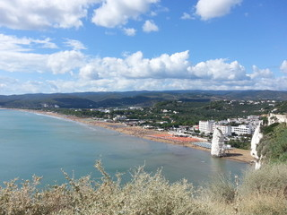 Italia - Puglia - Panoramica da Vieste (FG)