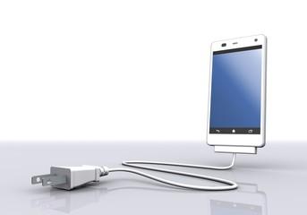スマートフォンと電源