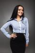 Latino businesswoman