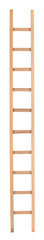 High long wooden ladder