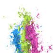 Zdjęcia na płótnie, fototapety, obrazy : Colorful splash
