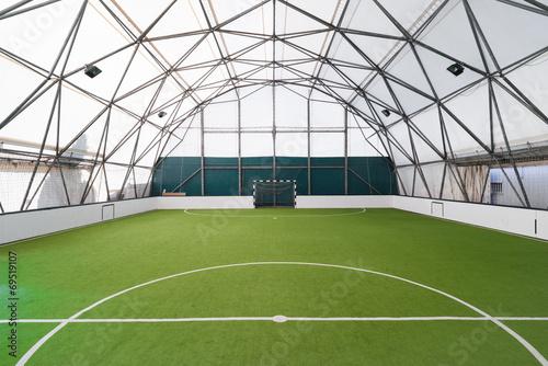 Foto op Canvas Stadion indoor football field
