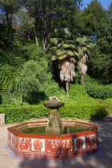 Montjuic Garden Fountain in Barcelona