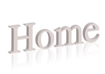 Buchstaben Home