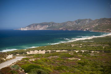 Sardinia. South-West coast