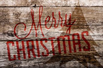 Holzkiste Fröhliche Weihnachten © Matthias Buehner