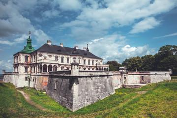 Old Pidhirtsi Castle, village Podgortsy, Renaissance Palace, Ukr