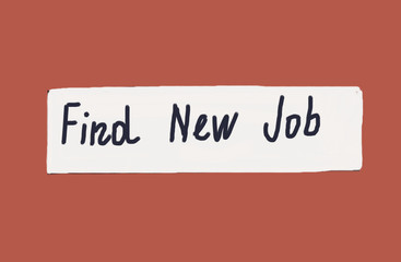 find new job