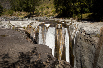 Trois Roches Wasserfall in Reunion