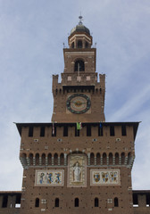 Milan Sforza Castle tower