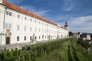 Building of the former Jesuit College in town Kutna Hora