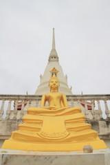 Buddha status at Wat Khun Thip, Uthai, Ayutthaya