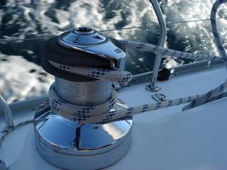 winch in navigazione