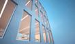 Leinwandbild Motiv Modern office building exterior