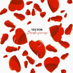 Herzen Hintergrund Valentinstag