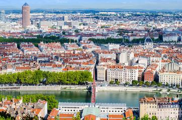 Lyon, France, paysage