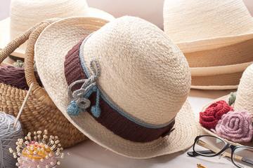 Vintage woven hat