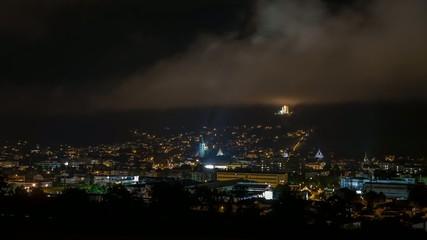 Timelapse Stadt nacht