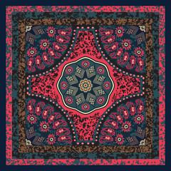 Floral Scarf Design