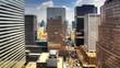 A wide view of Manhattan