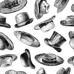 vintage hats pattern