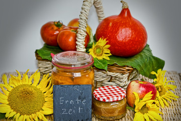 Herbstliches Arrangement